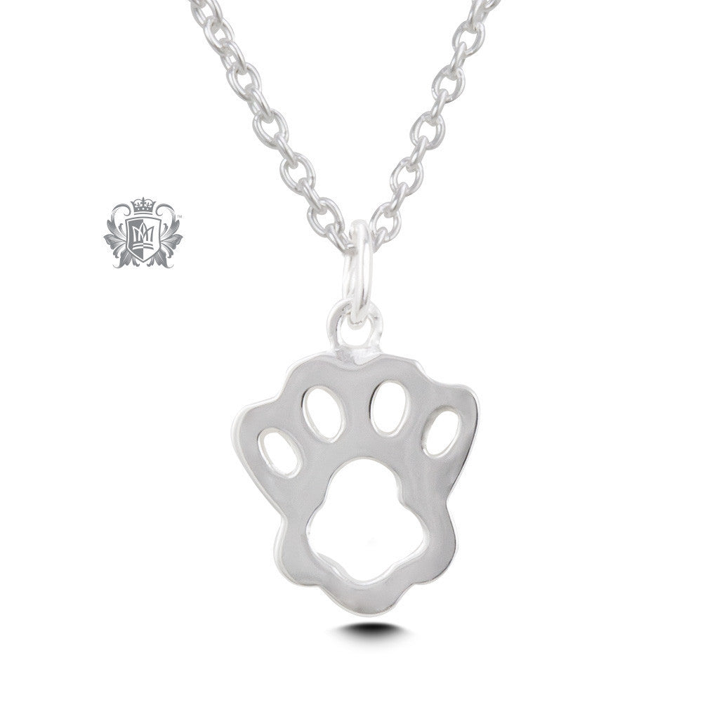 Paw Print Pendant -  Necklaces - 2