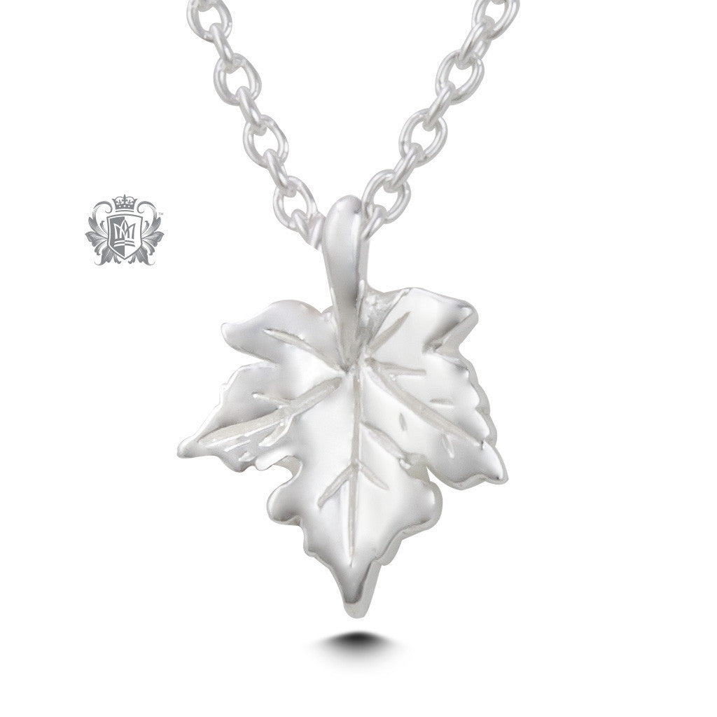 Maple Leaf Pendant -  Necklaces - 2