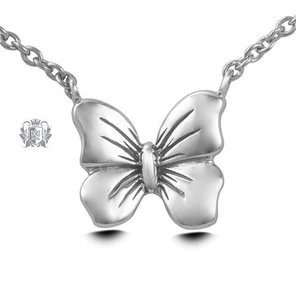 Butterfly Pendant - Sterling silver Necklaces - 2
