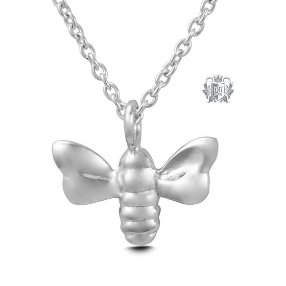 Bee Pendant - Sterling silver Necklaces - 2