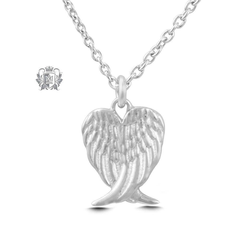 Angel Wings Pendant - Sterling silver Necklaces - 2