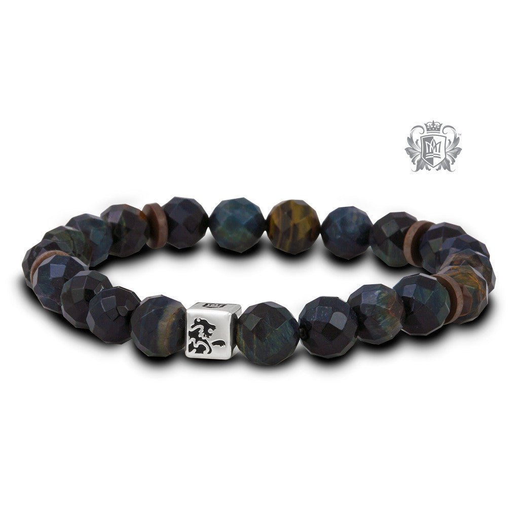 Gemstone Bracelet - Earthstone (faceted) Bracelets - 2