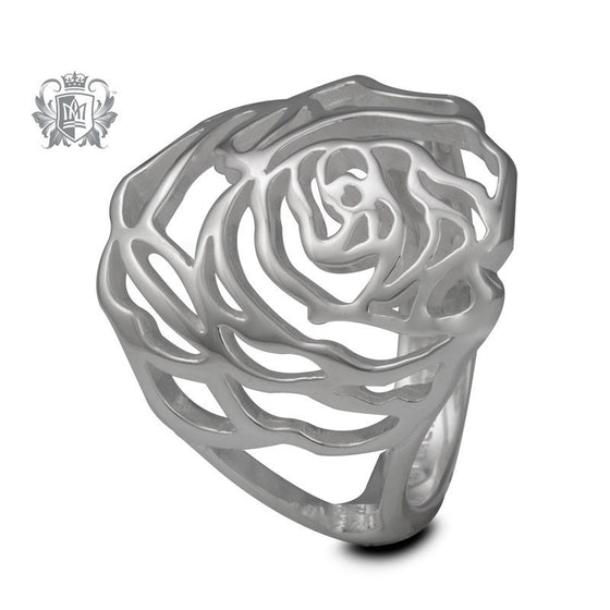 Rose Lunetta Ring - Size 7 Rings
