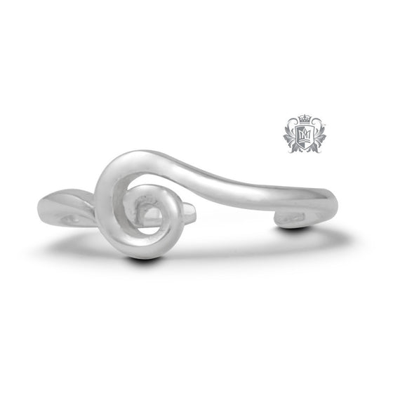 Whimsical Whirl Toe Ring -  Body Jewelry