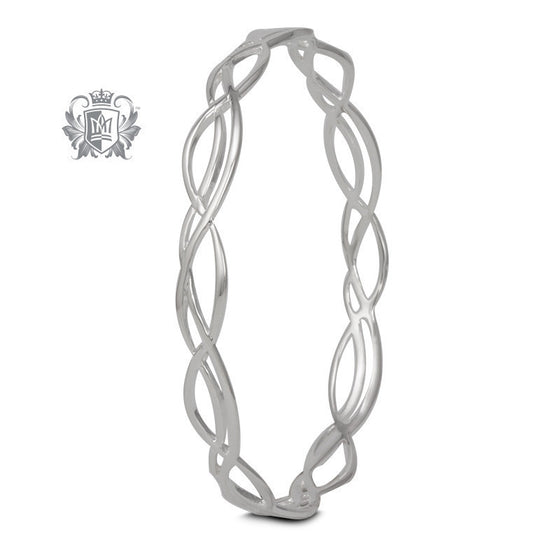 Wave Bangle - Metalsmiths Sterling™ Canada