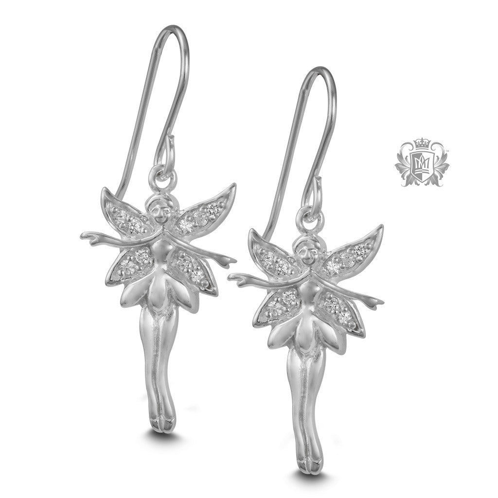 Sparkling Fairy Hanger Earrings - Metalsmiths Sterling™ Canada