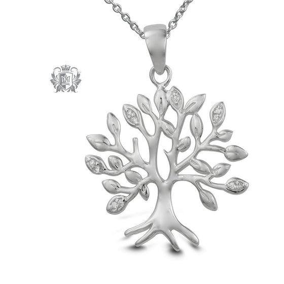 Tree of Life Cubic Necklace -  Gemstone Pendants
