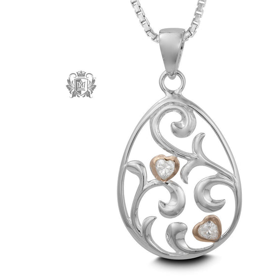 Love Grows Pendant - 18 inch chain Pendants - 1