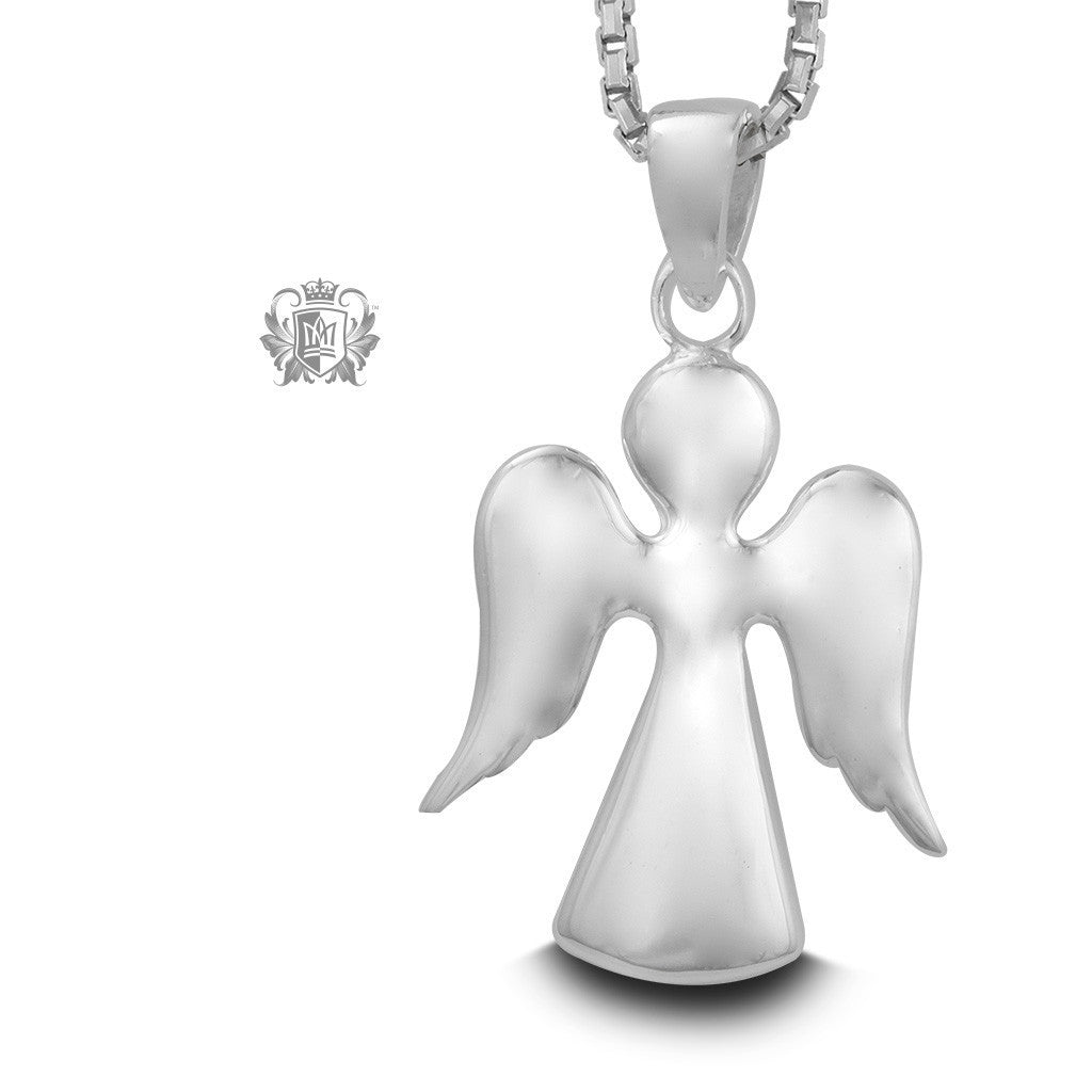 Angel Silhouette Pendant - 18 inch chain Pendants - 1