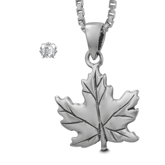 Maple Leaf Pendant - 18 inch chain Pendants - 1