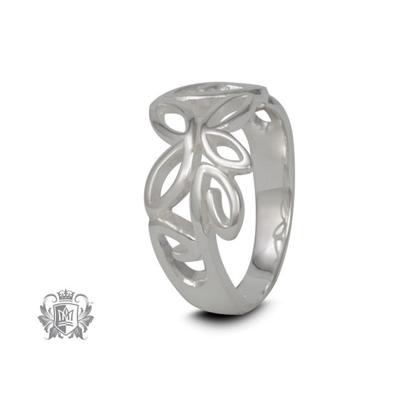 Abstract Butterfly Ring - Size 6 Rings
