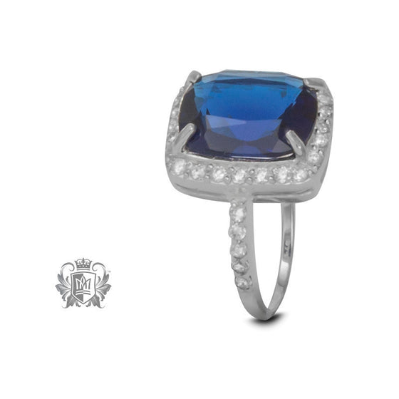 Cerulean Dreams Cocktail Ring - Size 6 Gemstone RIngs