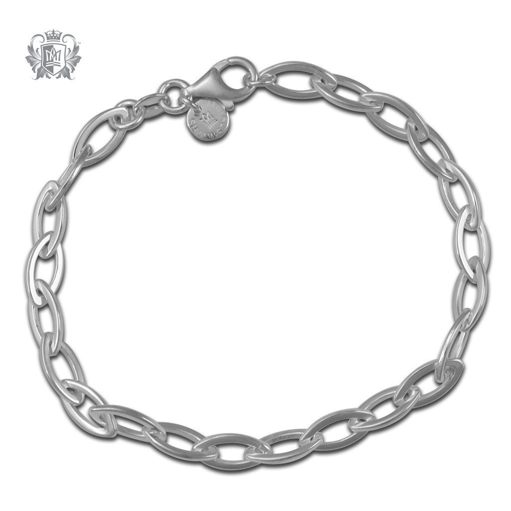 Elongated Link Bracelet - Metalsmiths Sterling™ Canada