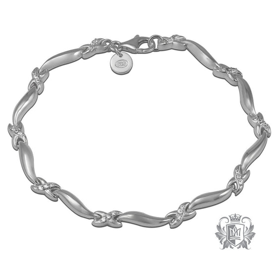 Crossover Bracelet - Metalsmiths Sterling™ Canada