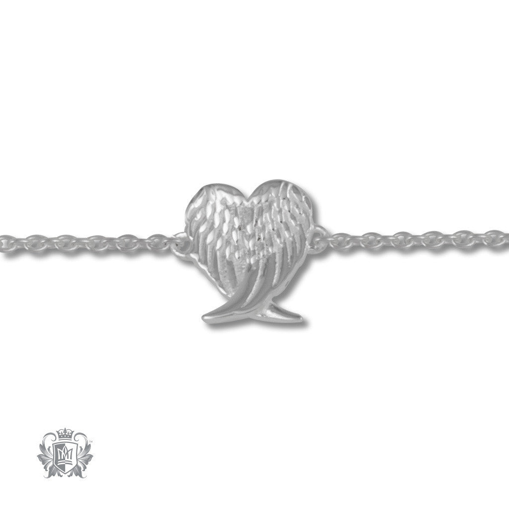 Guardian Angel Anklet - Metalsmiths Sterling™ Canada