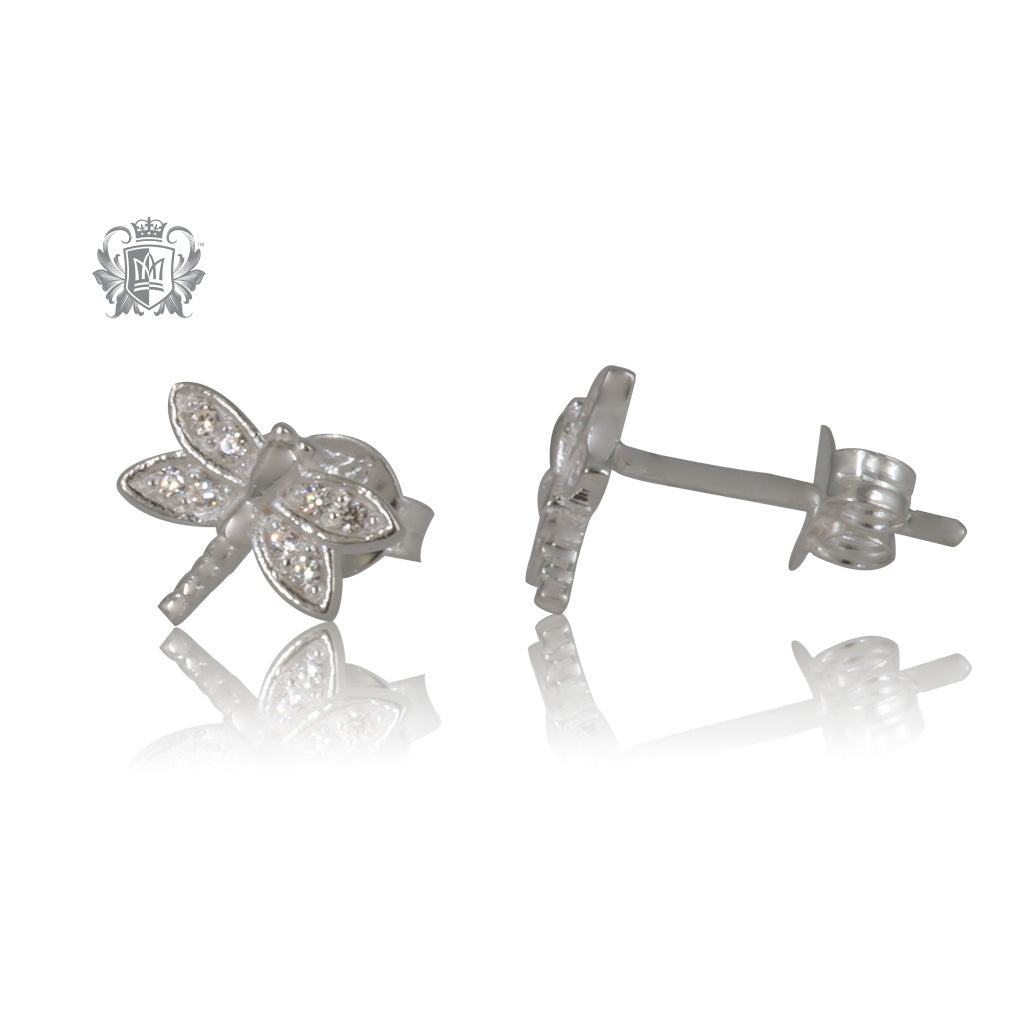 Dragonfly Cubic Studs