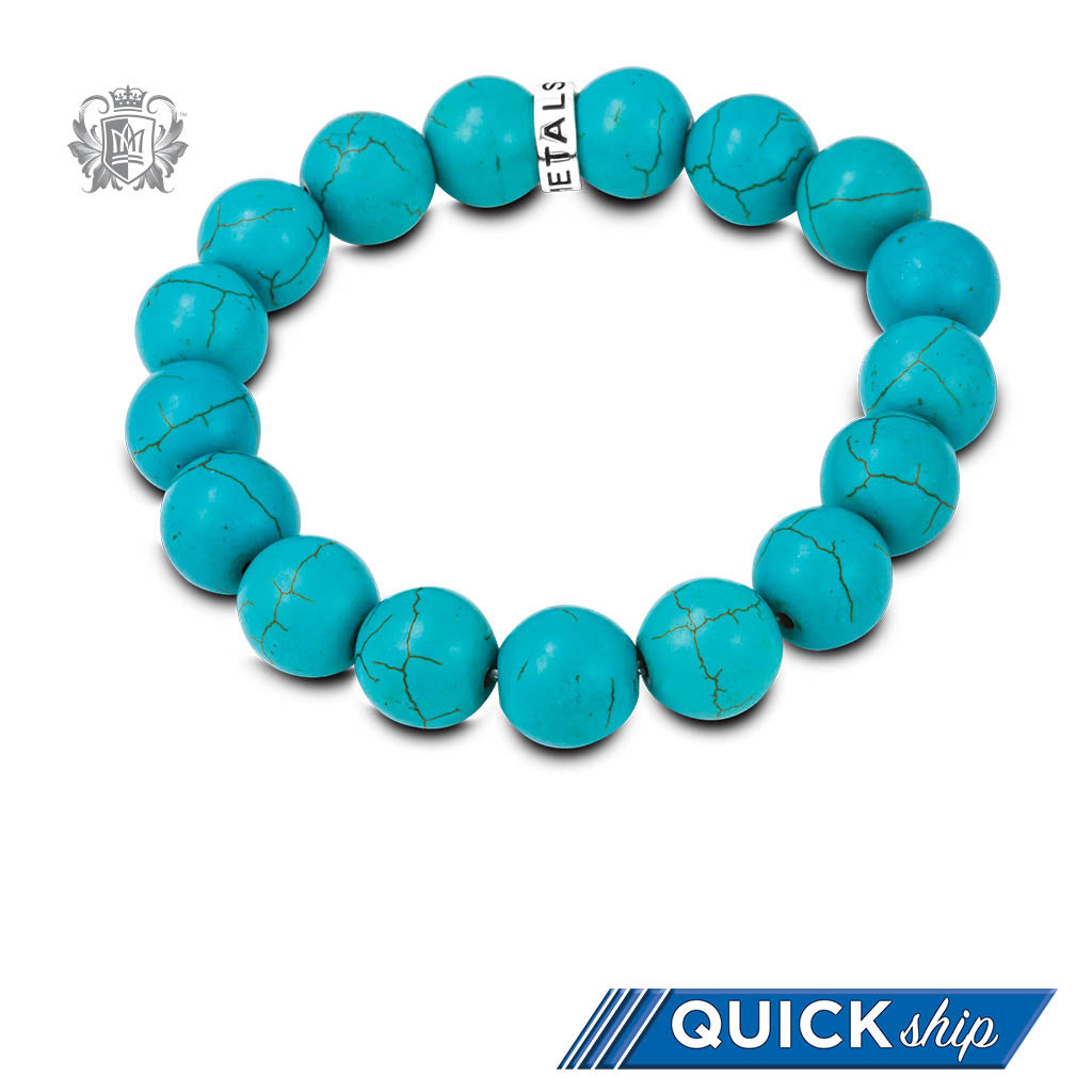 Quick Ship Turquoise Friendship Bracelet