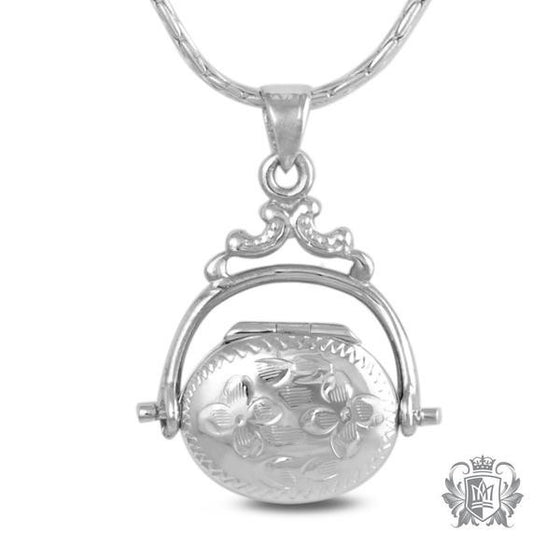 Antique Oval Locket - Chain upgrade