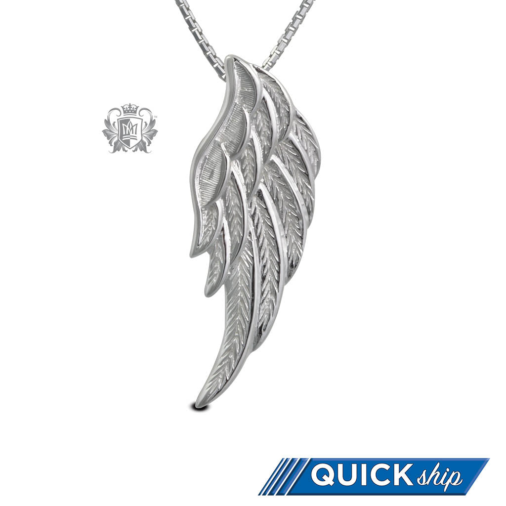 Quick Ship Angel Wing Pendant
