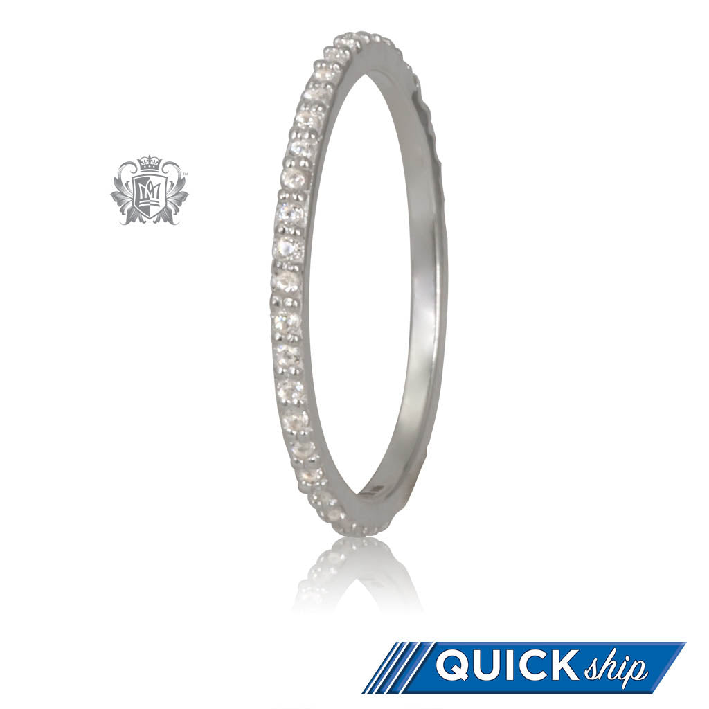 Quick Ship Eternal Stacking Cubic Ring Metalsmiths Sterling