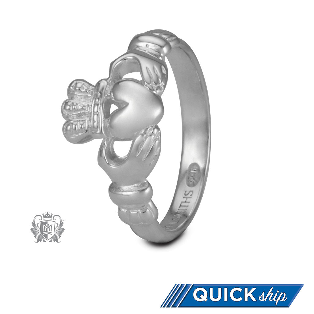 Claddagh Band - Metalsmiths Sterling™ Canada Quick Ship