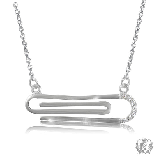 Metalsmiths Sterling Silver Paperclip Necklace