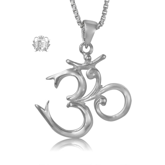 Metalsmiths Sterling Silver Om Pendant