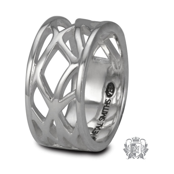 Freeform Line Band - Size 6 Rings
