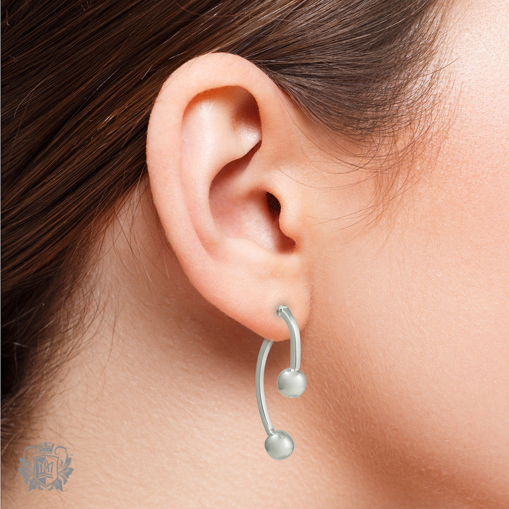 Double Dangling Ear Jackets - Metalsmiths Sterling™ Canada