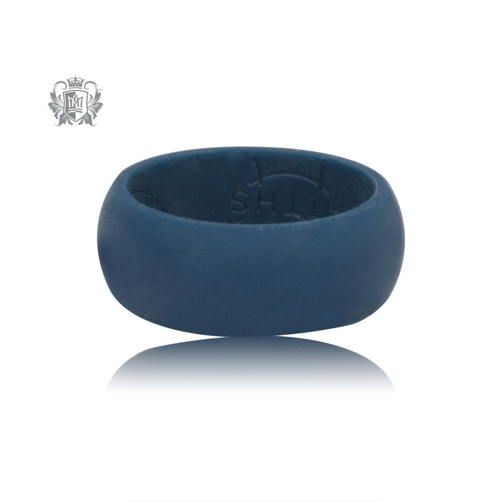 Blue Silicone Ring - SAMPLE