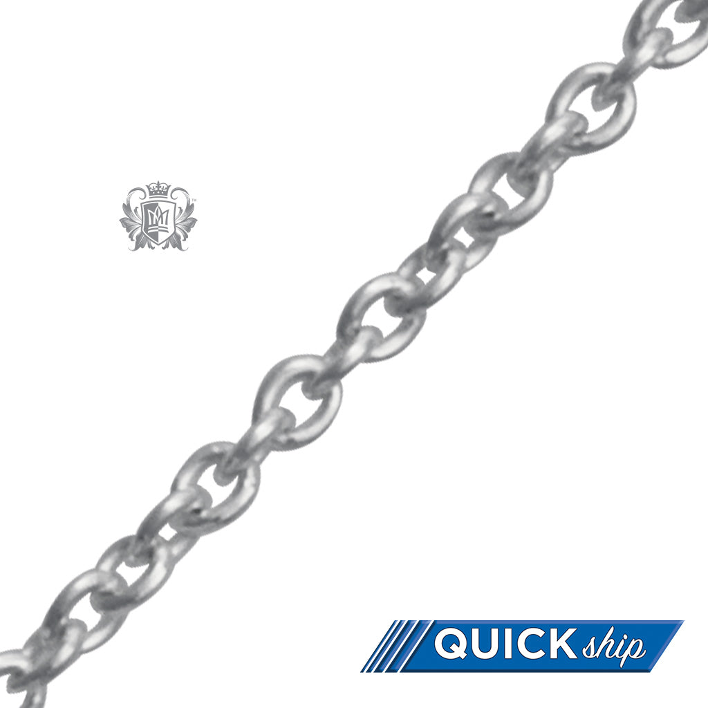 Quick Ship Rolo Chain (1.9mm) - 16 inch chain Chain - 1