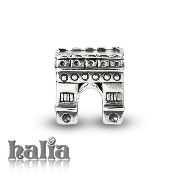 Arc de Triomphe -  Sterling Silver Bead