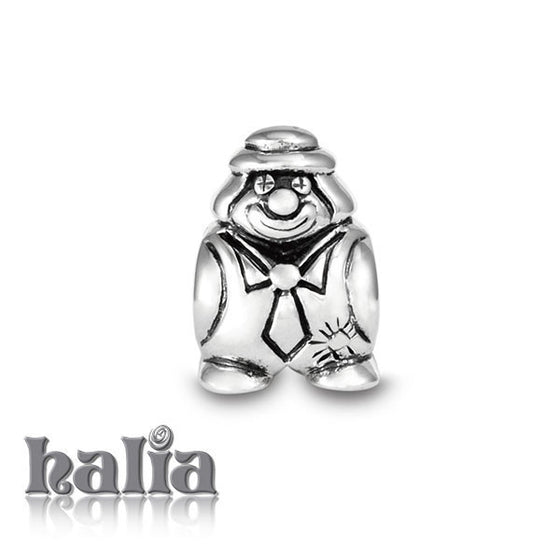 Clown -  Sterling Silver Bead