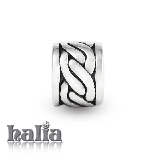 Celtic Pattern -  Sterling Silver Bead