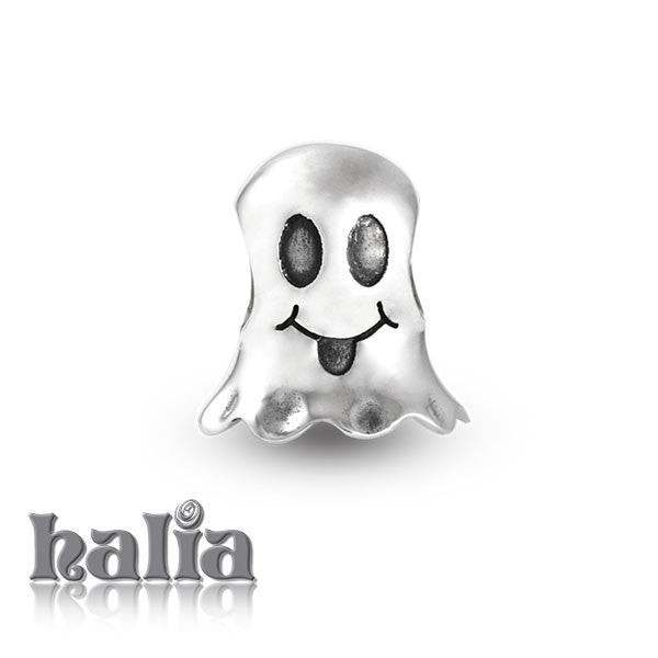 BOO! -  Sterling Silver Bead