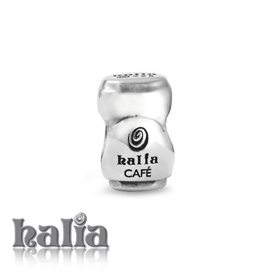 Cafe Halia -  Sterling Silver Bead