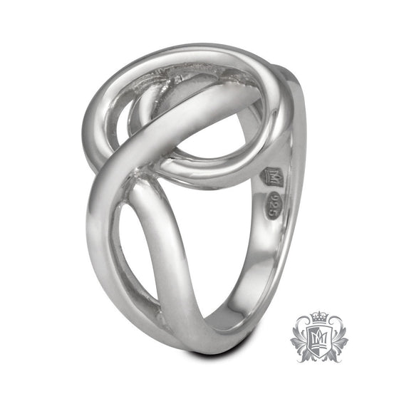 Heart Knot Ring - Size 6 Rings - 1