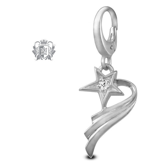 Cubic Shooting Star Charm -  Charm