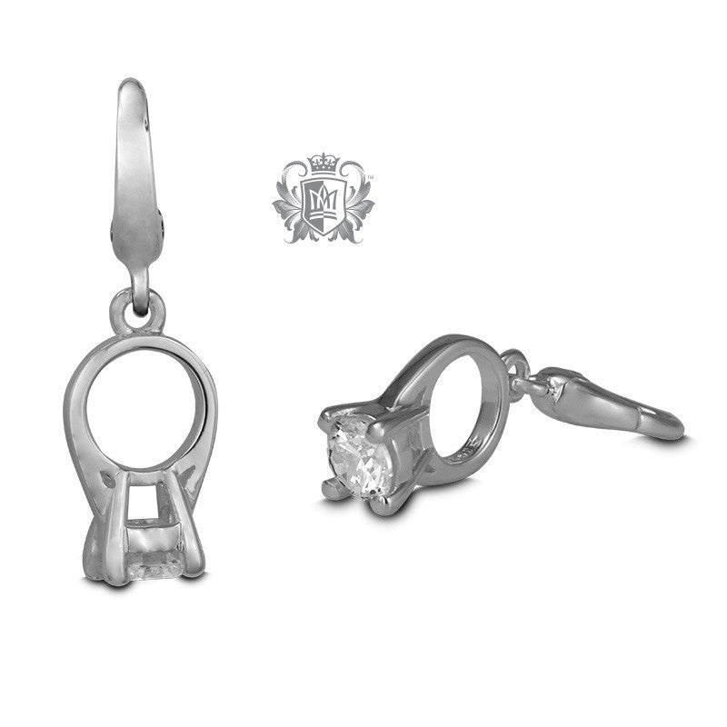 Solitaire Ring Charm -  Charm