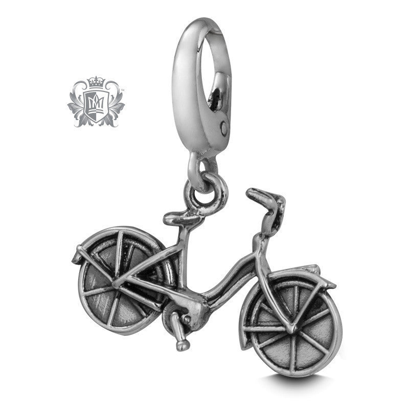 Vintage Bicycle Charm -  Charm