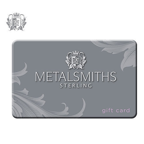 Metalsmiths Sterling Retail Store Gift Card (Canada) - $25 CDN Retail Store Gift Card Gift Card
