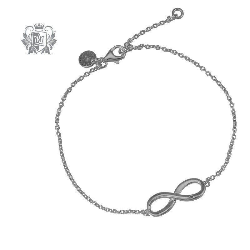 Infinity Diamond Bracelet - Metalsmiths Sterling™ Canada