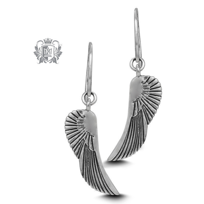 Angel Wing Hangers -  Earrings