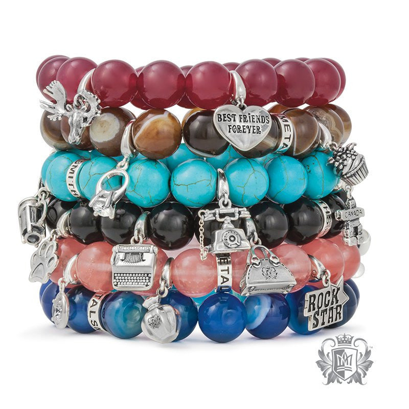 Gemstone Friendship Bracelet - Metalsmiths Sterling™ Canada
