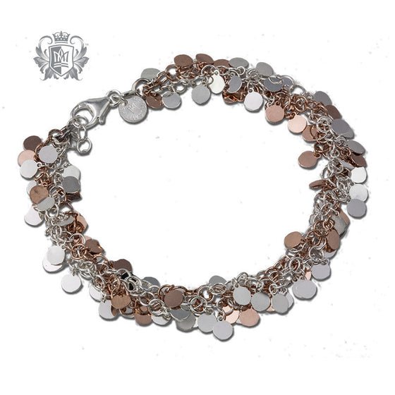 Multi-Strand Disc Bracelet - Metalsmiths Sterling™ Canada