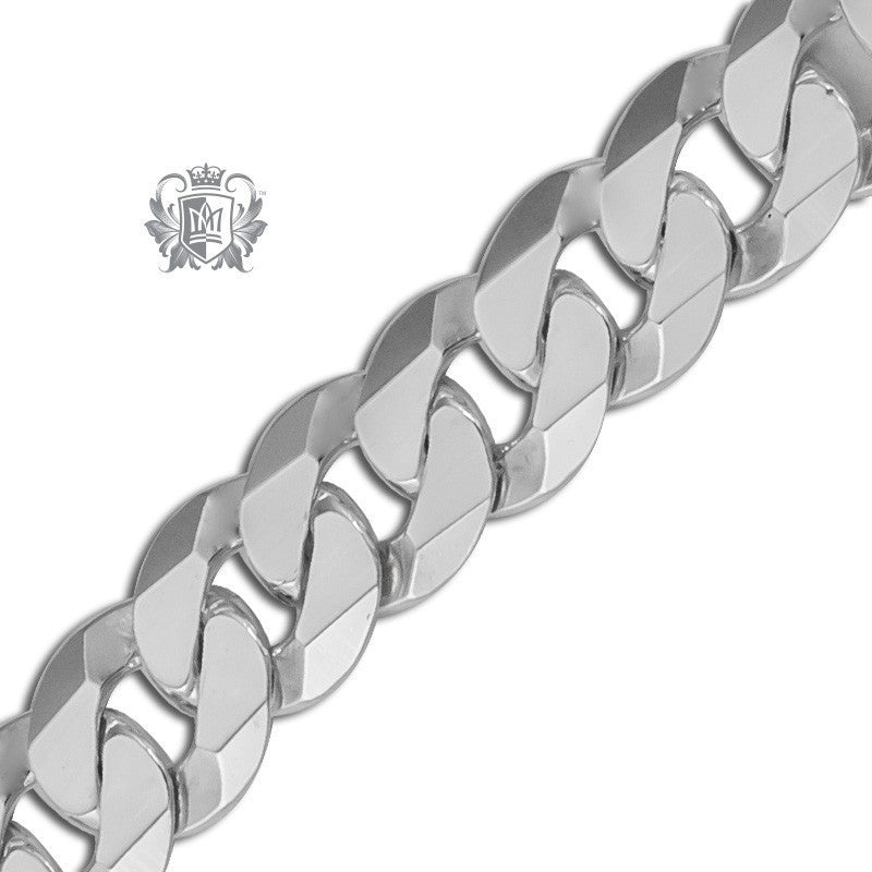 Extra Flat Curb Chain (200 Gauge) -  Chain