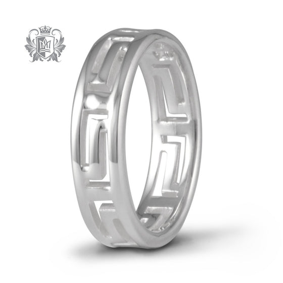 Greco Eternity Band - Size 6 Rings