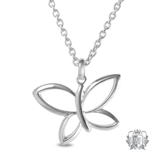 Whimsical Butterfly Pendant - 18 inch chain Pendants - 1