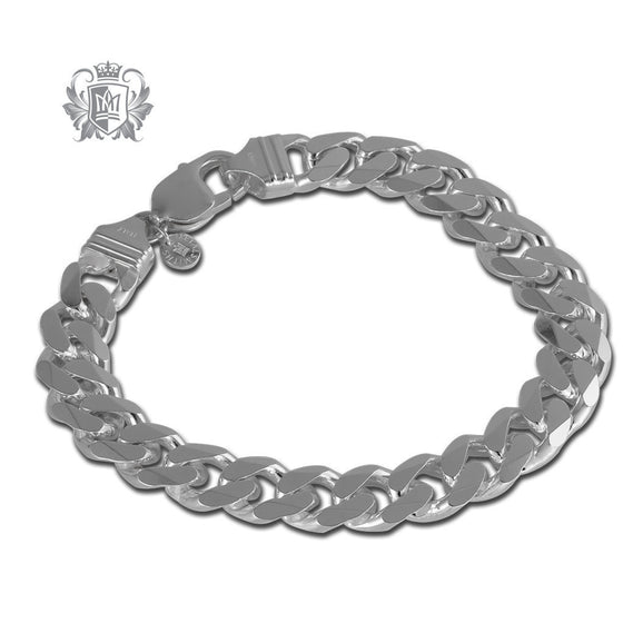 Large Curb Link Bracelet (300 Gauge) - Metalsmiths Sterling™ Canada