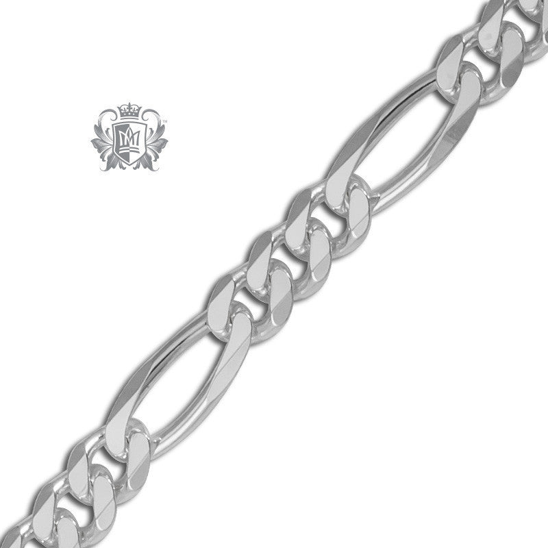Medium Figaro Chain (150 gauge) - 20 inch chain Chain